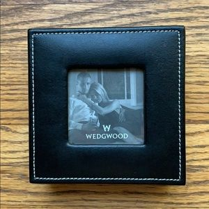 Wedgwood Leather Photo Frame